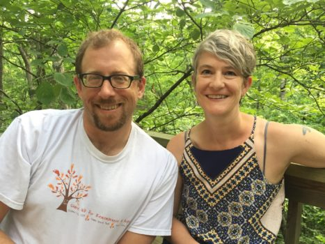 Tap Root podcast hosts Elizabeth Haswell and Ivan Baxter