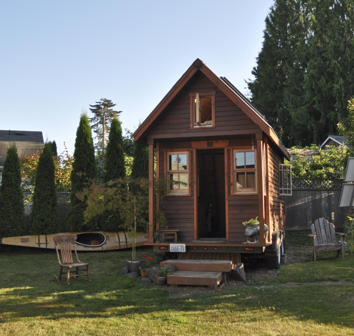 "A ""tiny house"" in Portland"