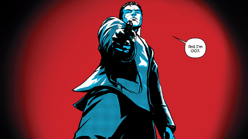Image of James Bond from Vargr, Issue 1