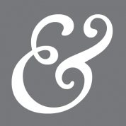 grey ampersand logo