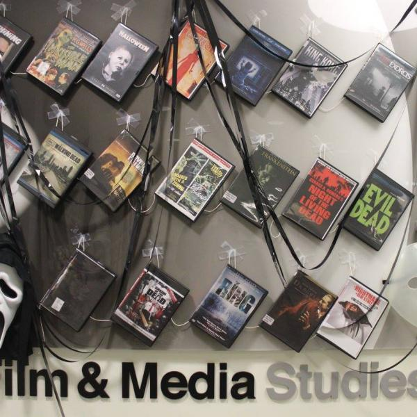Film and Media Studies' 2016 Trick or Tweet display