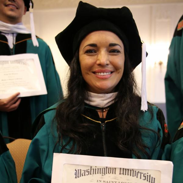 Never too late: MS in Biology program graduates first Texas cohort