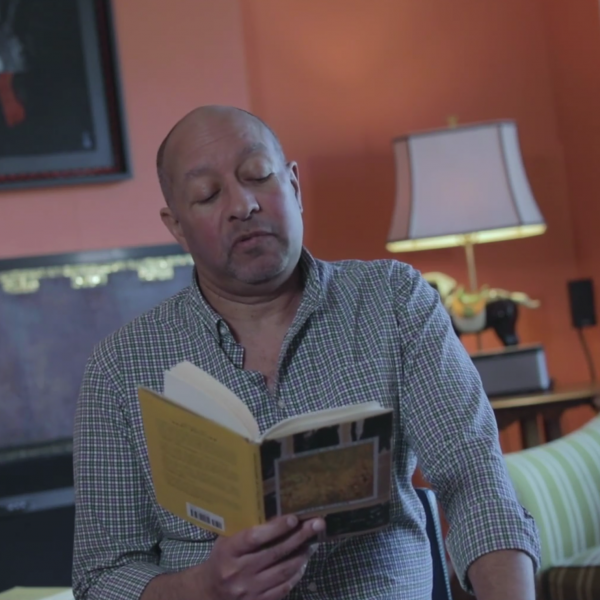 """Carl Phillips reads his poem """"Dirt Being Dirt"""""""