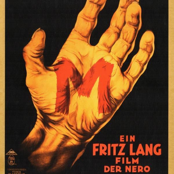 """Spring 2018 Germanic Film Series """"M - Eine Stadt sucht einen Moerder"""""""
