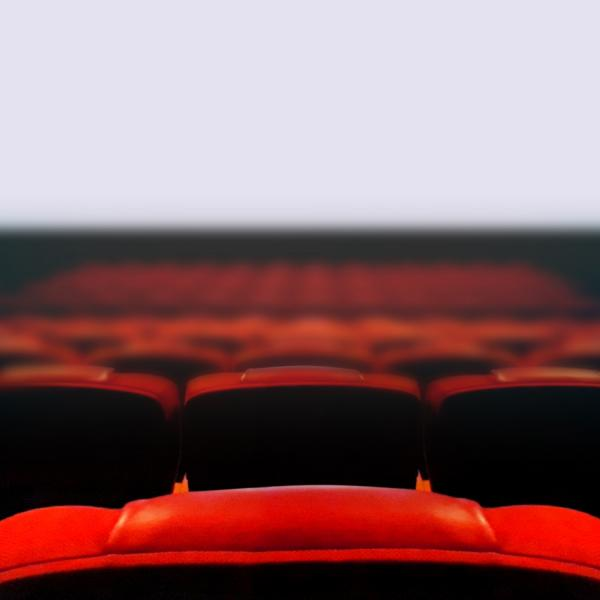 Seats in theater for Film and Media Studies