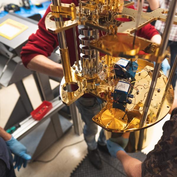 A quantum launch