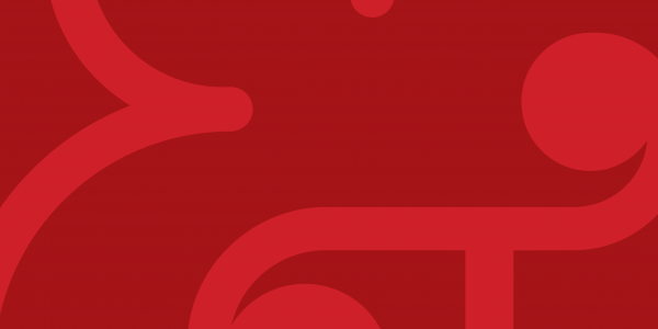 red ampersand logo