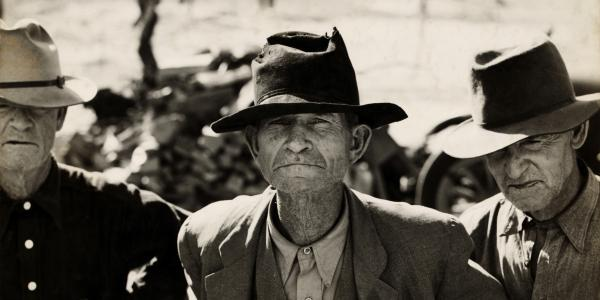 Depression era photo by Dorothea Lange