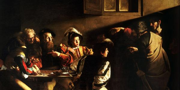 Caravaggio's The Calling of St Matthew