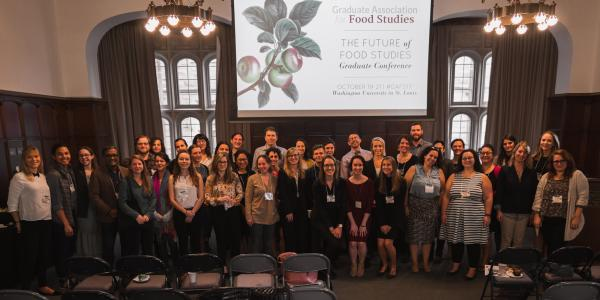 Attendees of the Future of Food Studies Graduate Conference