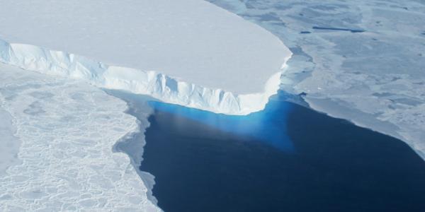 Thwaites Glacier in West Antarctica (NASA)