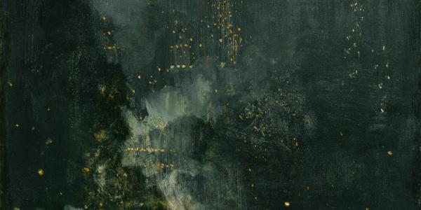 Whistler's painting Nocturne in Black and Gold
