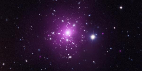 Abell 383: An Elusive Subject (NASA, Chandra, Hubble, 03/14/12)