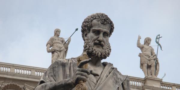 Saint Peter, according to Mark