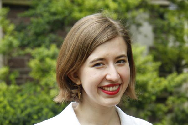 Lydia Zoells, English major and German minor at Washington University in St. Louis