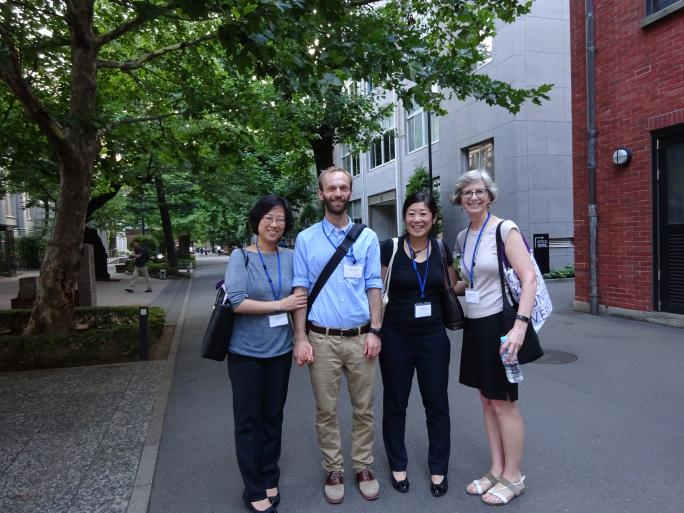 EALC faculty, staff, graduate students and alumnae participated in the Asian Studies Conference Japan, held at Rikkyo University in Tokyo, July 8-9, 2017.